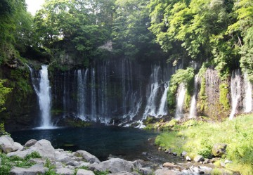 Shiraitonotaki waterfall / 白糸の滝